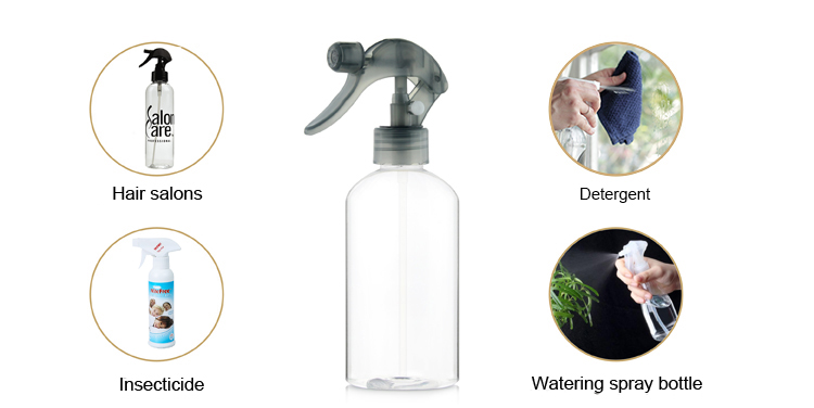Factory price pet plastic liquid container  barber cleaning spray bottles