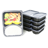 Food Storage Disposable Plastic Deli Containers With Lids