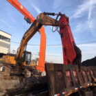 Jcb Shear Excavator Hyundai JCB Excavator With Hydraulic Shears