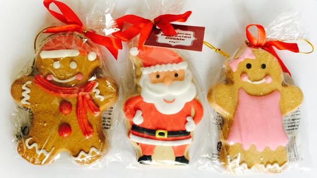 Décoré De Noël Biscuit Pain D'épice Homme