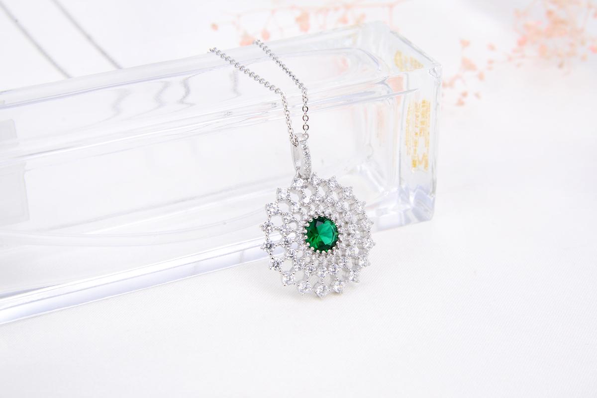 Fancy stud earring jewelry sets for woman bridal set