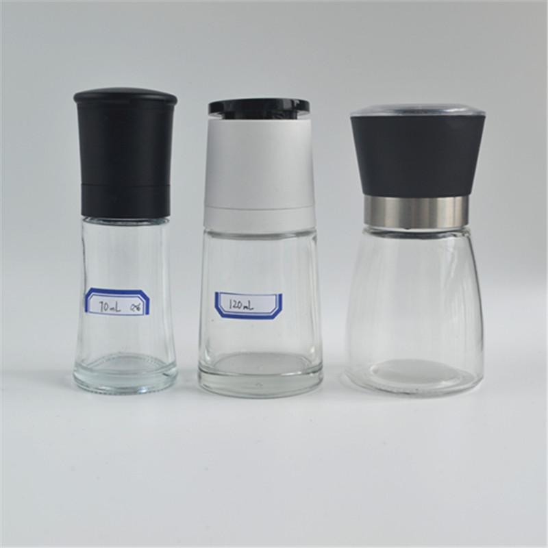 100 ml พลาสติกเครื่องบดเกลือพริกไทย