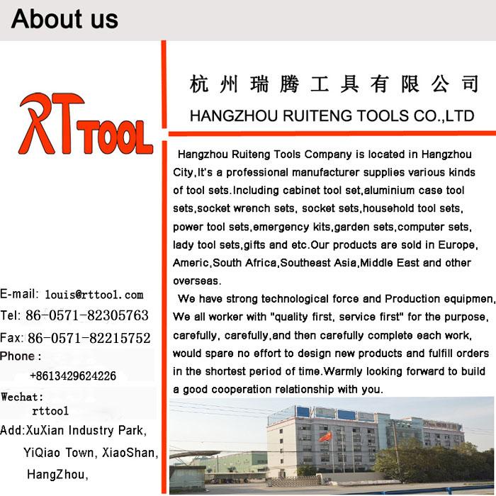 Venta caliente de alta quality-172pcs herramientas y equipos de mano de alta calidad herramientas Rt herramienta