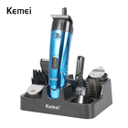 Man's grooming set include electric shaver beard nose trimmer hair trimmer body groomer hair clipper