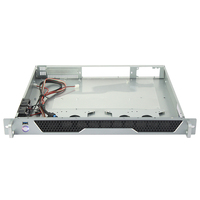 Aluminum panel 19inch server rack mount server chassis for ATX Mother Board for AI application