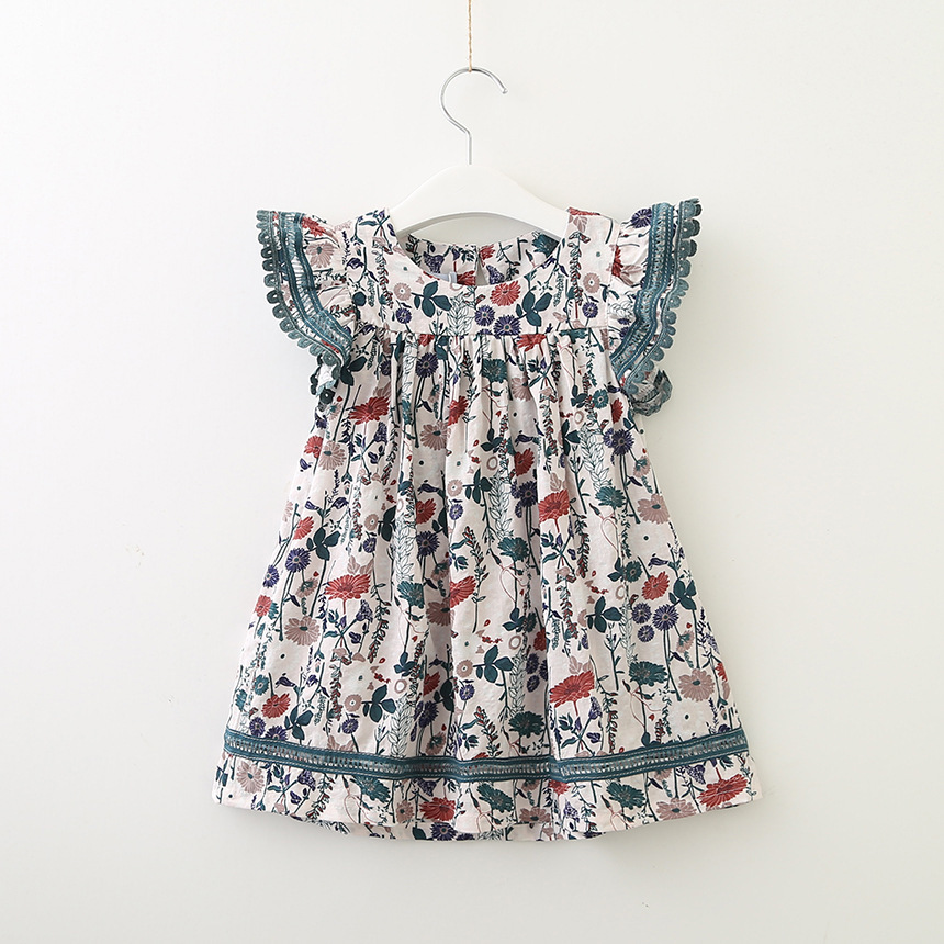 2020 summer new <strong>design</strong> <strong>girls</strong> dress petar sleeve lovely floral baby frock for <strong>girl</strong>