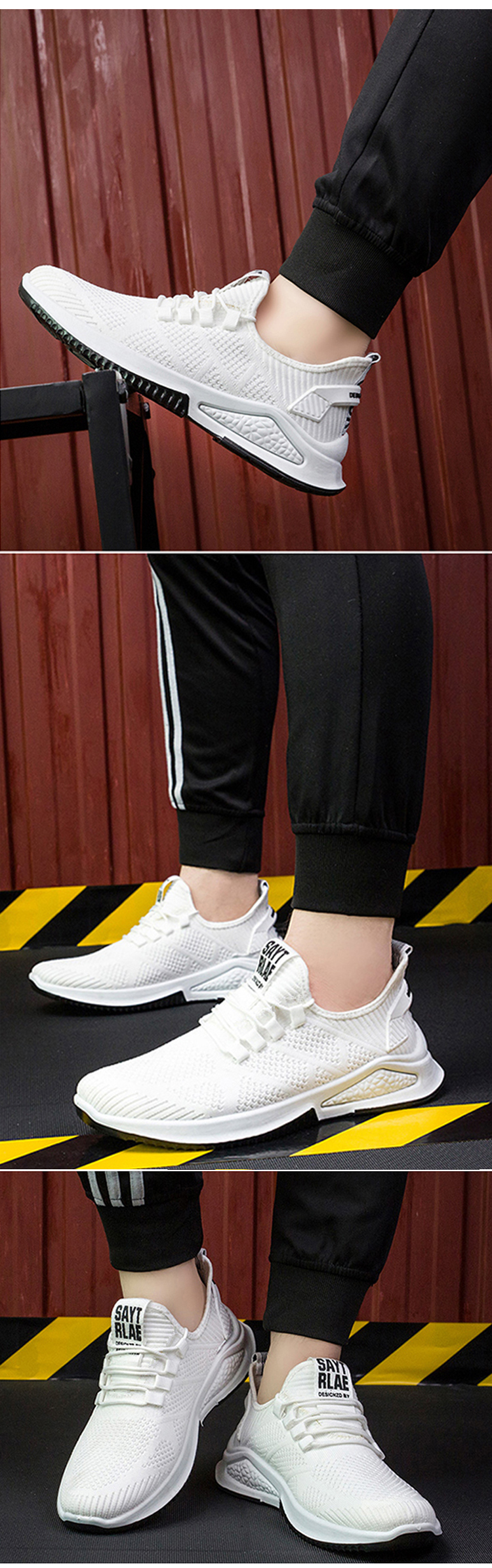 Heydima wholesale modern comfortable sneakers male customize men's fashion sneakers casual shoes