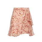 Yunyafashion 2019 Most Trendy Short Floral Skirt Ruffle Dress