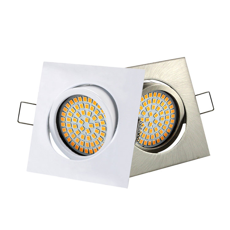 4W 320lm SMD Downlight Zinc Recessed Mounted Down Lighting Angle Rotatable Spotlight LED Small Ceiling Spot Light