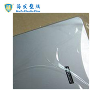 Transparent hand use plastic profile surface protective film