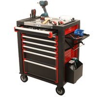 DO-2020 Kinbox Workshop Metal Storage, Mobile Tool Cabinet,Roller Cabinet With Tools