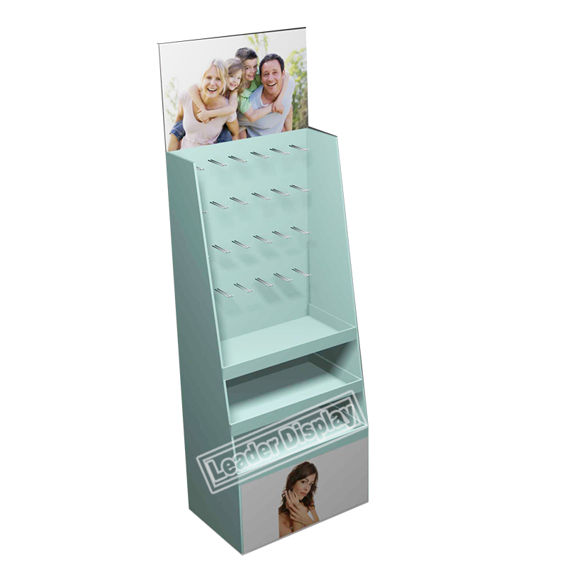 The Best and Cheapest 4C printing Retail Hook Display Rack