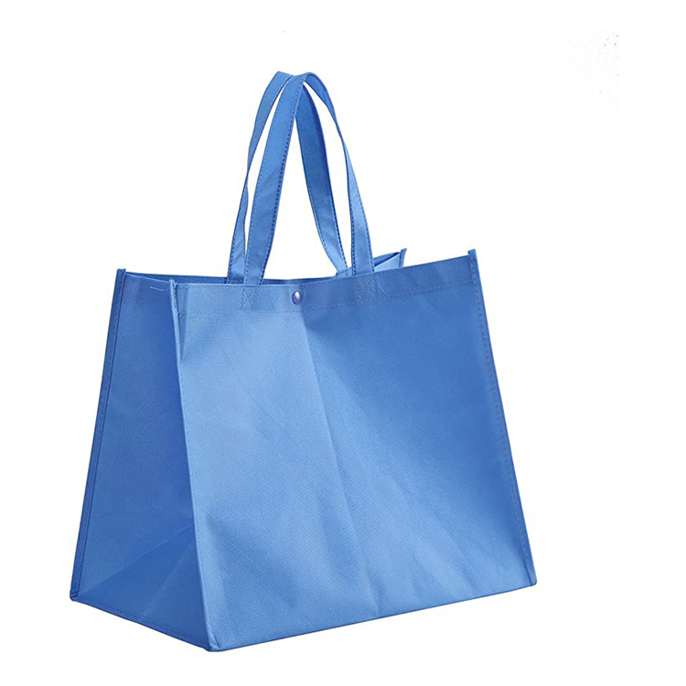 Custom Silk Screen Printed Logo Promotional Non Woven Fabric Cloth tote Bag