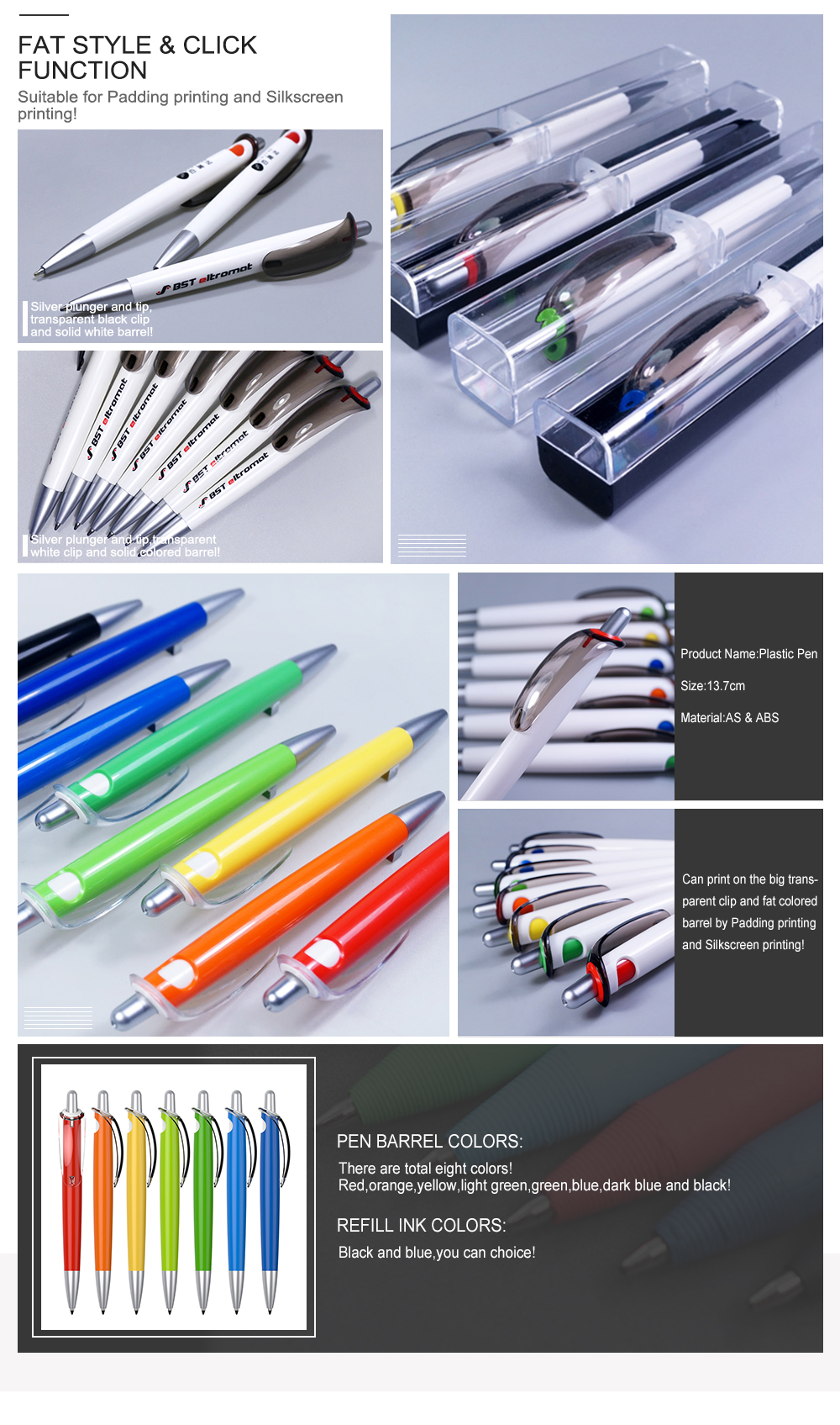 Custom Plastic Promotional Ball Point Pens,Ball Pen Making