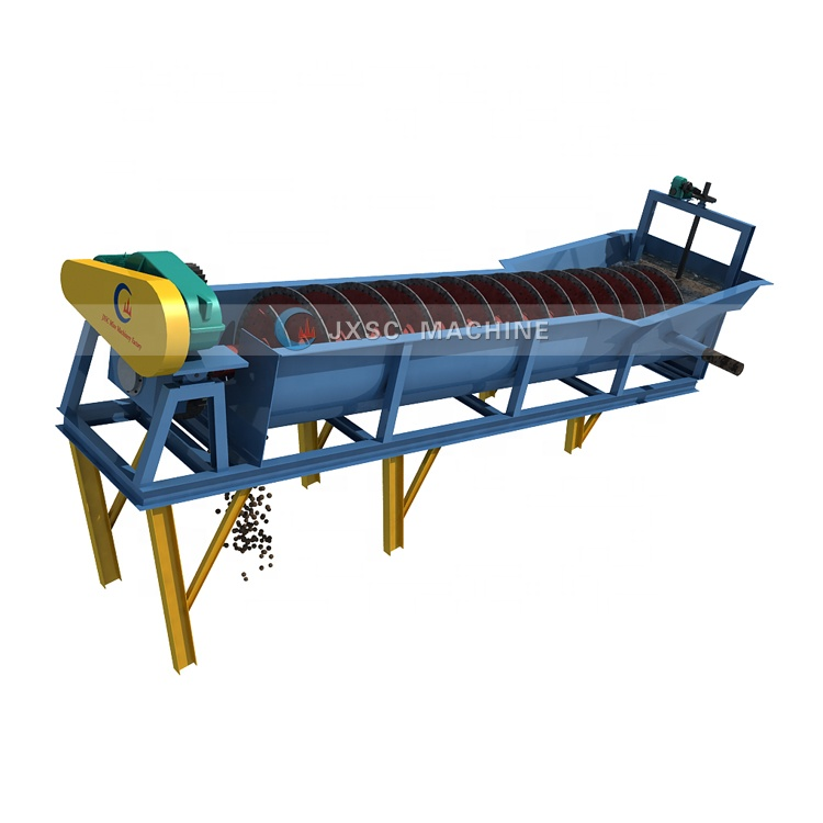 Screw Wash Sand Machine Spiral Classifier Log Washer Hot Sale Silica Sand Washing Plant