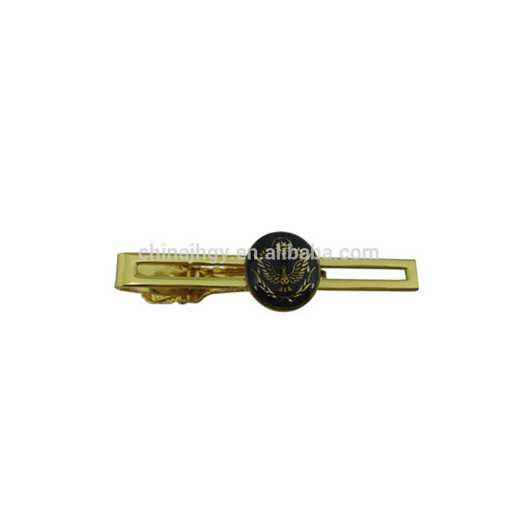 custom make your own metal tie clip with logo