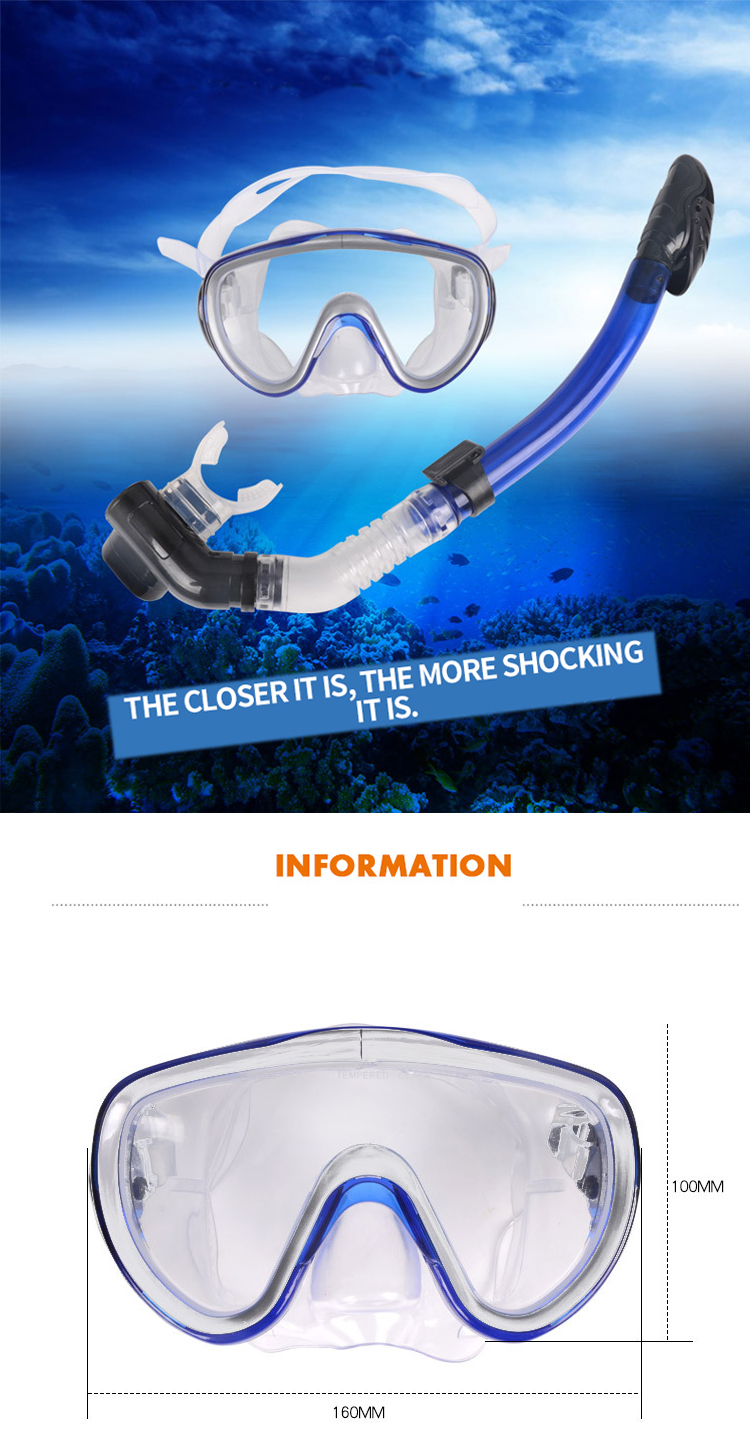 Hot Selling Adult PVC Swimming Googles Waterproof Promotional PVC Lens Swim Goggles Snorkeling Equipment