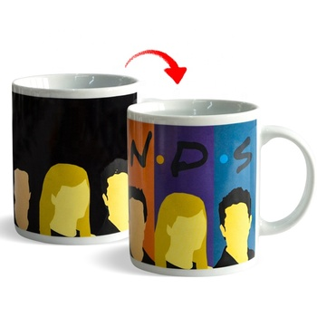 Color changing mug with customer logo factory OEM coffee mug as personal gift