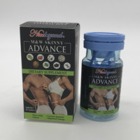 Weight loss slimming capsule Nicebeyond M&W SKINNY ADVANCE Control appetite formula 1000mg*30 tablets Natural Strong formula