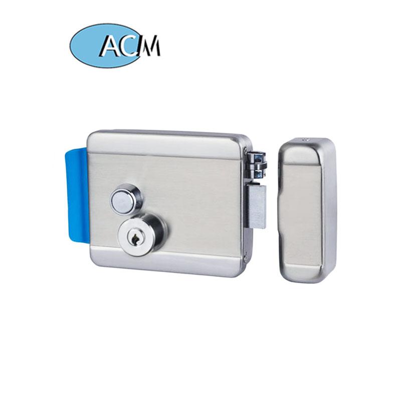 Kunci Pintu Elektronik Silinder Pelek Baja Tahan Karat, Kunci Keamanan Tinggi