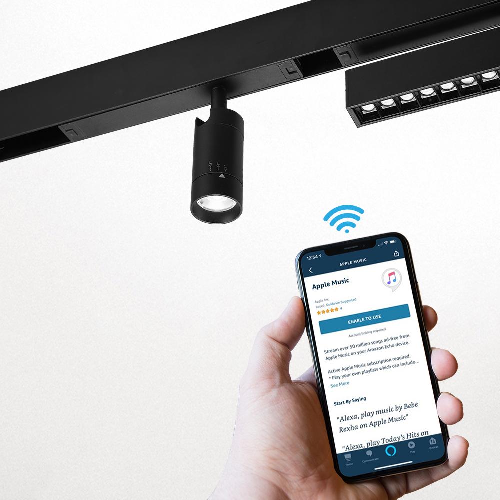 High Performance Indoor LED Rail Light Magnetic Track Light System