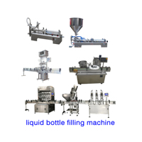 Factory direct sale automatic bottle filling machine and capping labeling machine