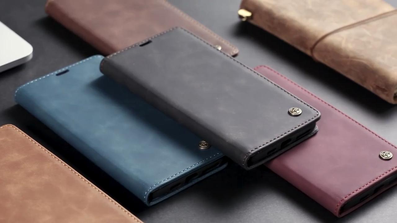 Caseme бумажник из искусственной кожи в стиле ретро чехол для Iphone 12 11 PRO MAX X XS MAX XR 8 7 PLUS 6 6S PLUS SE 5 5S для Samsung S20 Ультра чехол с откидной крышкой
