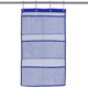 6 Storage Pockets Hanging Mesh Shower Caddy Space Saving Bathroom Accessories bag