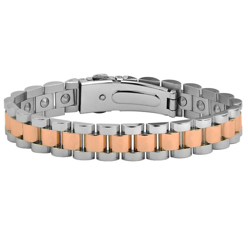 316 stainless steel painkiller <strong>energy</strong> health germanium <strong>magnetic</strong> <strong>bracelet</strong>