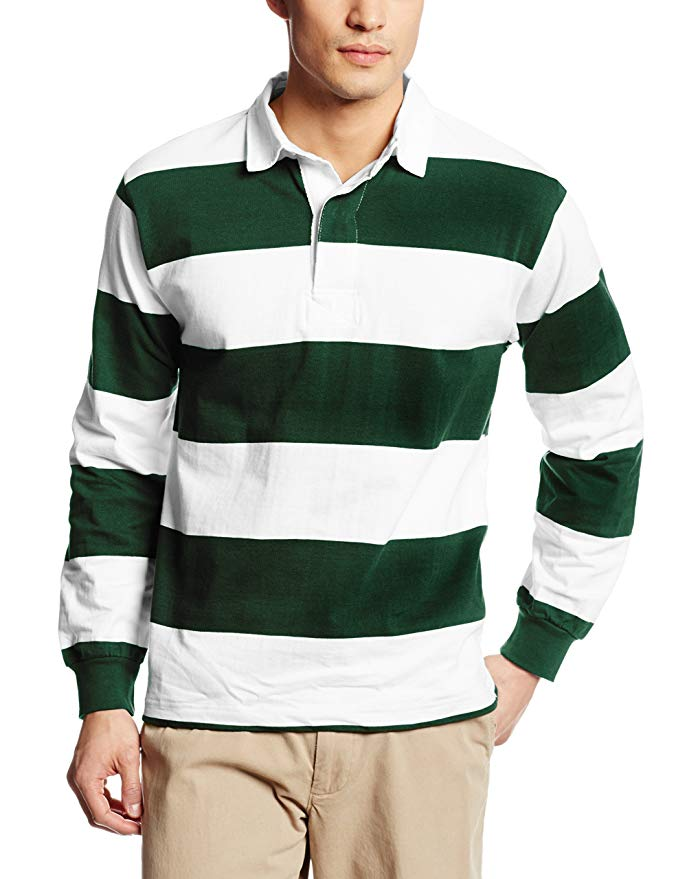 2020 Cotton long sleeves stripes best quality rugby polo shirts for Rugby Football Wear custom Rugby Jerseys
