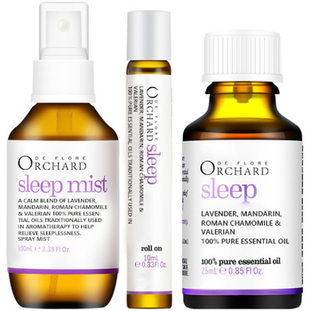 Help Sleep Improve Insomnia Quick Sleep Spray Lavender essential oil calming blend for sleep