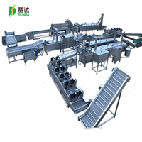 2019 China compound potato chips making machine French fries processing line production equipment