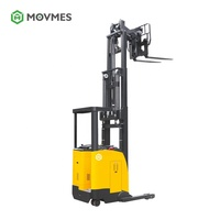 3000 3500 4000 electric power double deep reach truck camera