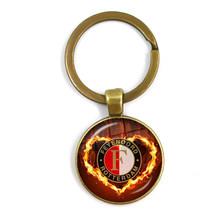 Модный металлический круглый брелок 25 мм-лучший сувенир для фанатов и друзей(Китай)