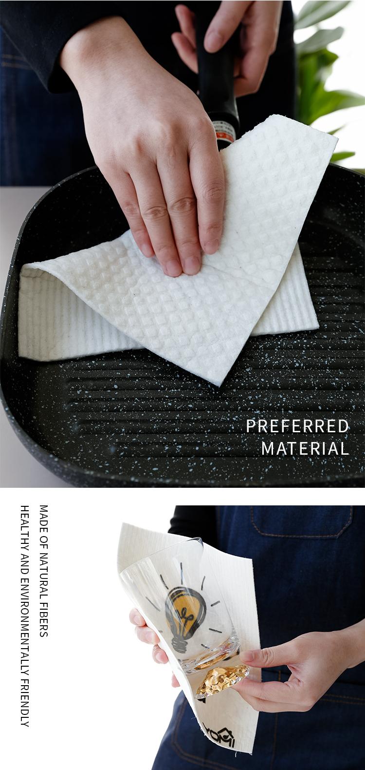 Fabrik Preis Angepasst Gedruckt Holz Zellstoff Baumwolle Mikrofaser Tuch Reinigung Handtuch Tuch