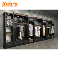 Fashion design display decoration clothes stores