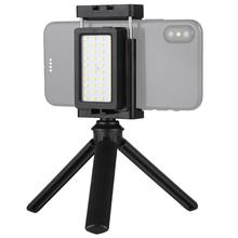 <span class=keywords><strong>OEM</strong></span> Puluz Ponsel Live Set Saku Self-Timer Mengisi Lampu Ponsel Clamp Bracket Mount <span class=keywords><strong>Desktop</strong></span> Tripod