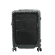 Luggage PC trolley case 20 inch Pure PC with imported cedar bottom waterproof nylon fabric zipper case boarding case