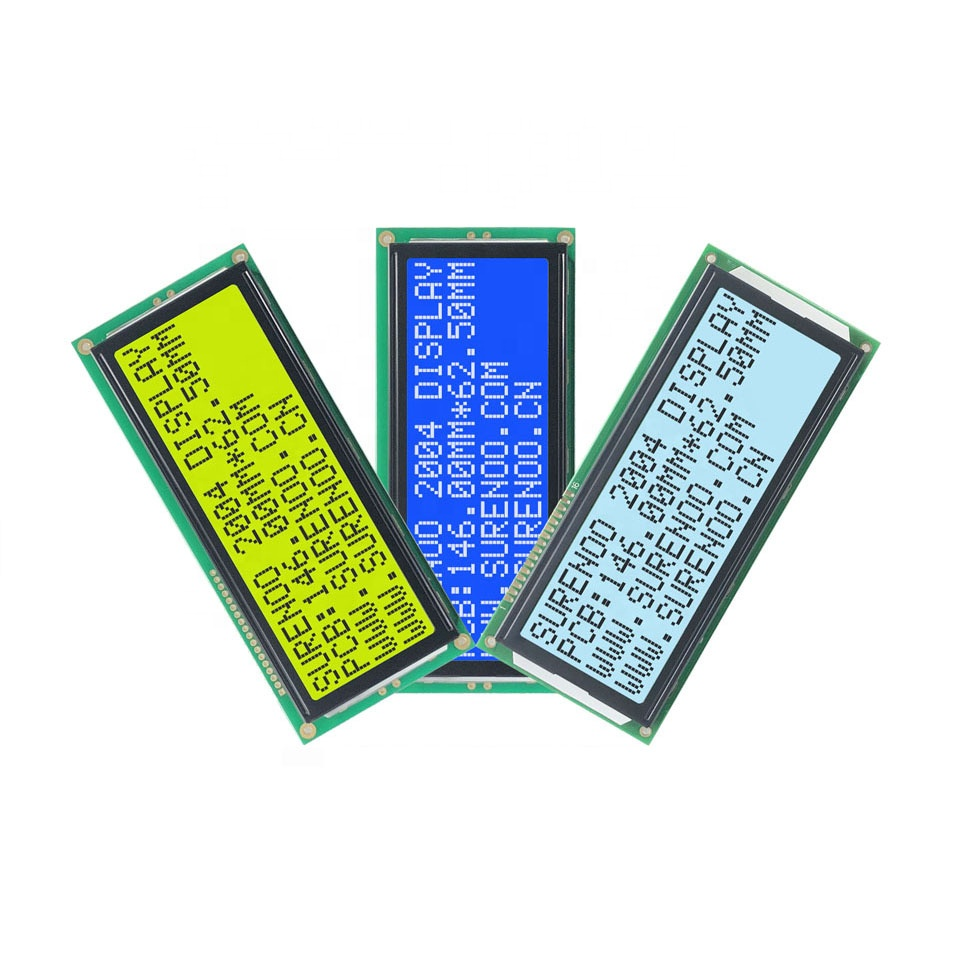 146.0*62.5MM 204 2004 20X4 Larger Character LCD Module Display Screen Panel LCM with LED Backlight SPLC780D