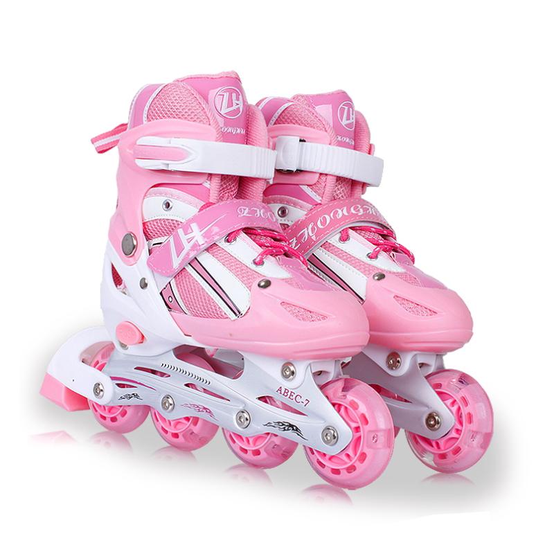Inline Skates 4 Wheel Children Adjustable Boys Girls Leisure Outdoor Kids Roller Skates Skate Shoes Buy Roller Skating Boy Roller Skating Girl Roller Skating Product On Alibaba Com