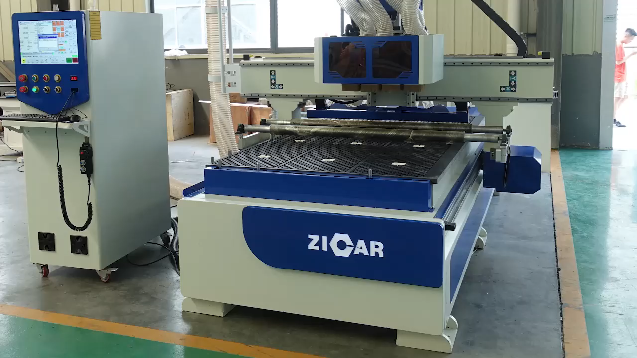 ZICAR High-accuracy CR4 CNC Cutting Machine wood cut machine