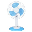 New idea Solar DC 12v 110V 220 V 12inch 16 inch ac/dc table fan rechargeable emergency usb port fan Built-in lithium battery