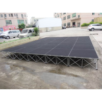 RK smart stage flooring hight quality material aluminum smart mobile stages for event