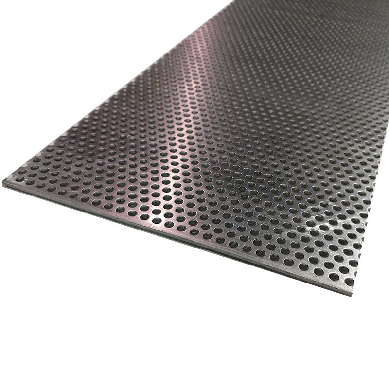 Индонезия рынка 0,8/1,0/1,2/2,5 отверстия шестиугольная, перфорированный металлический лист разновидности А