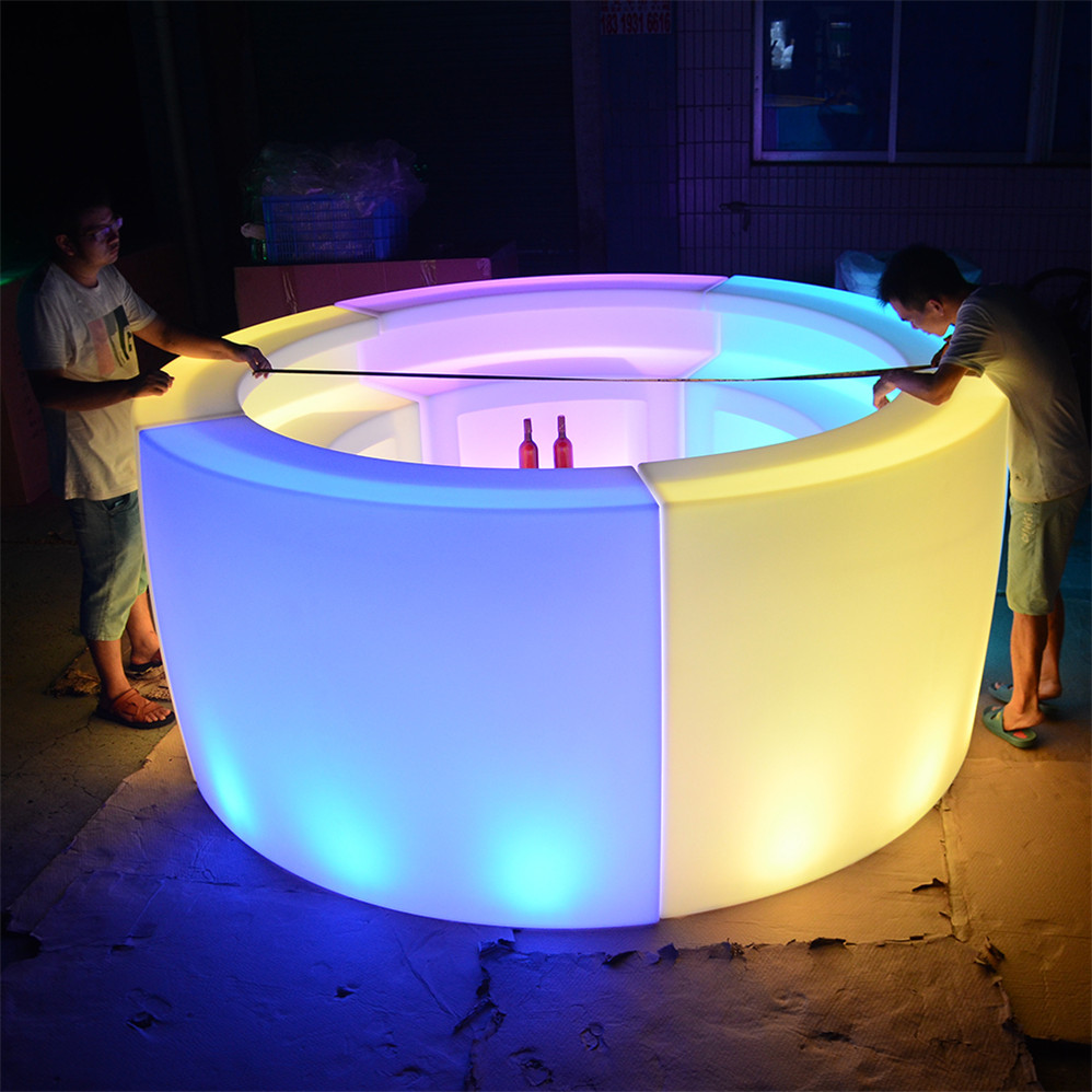 commercial led <strong>bar</strong> counter outdoor indoor home garden led lighted <strong>bar</strong> counters table for sale