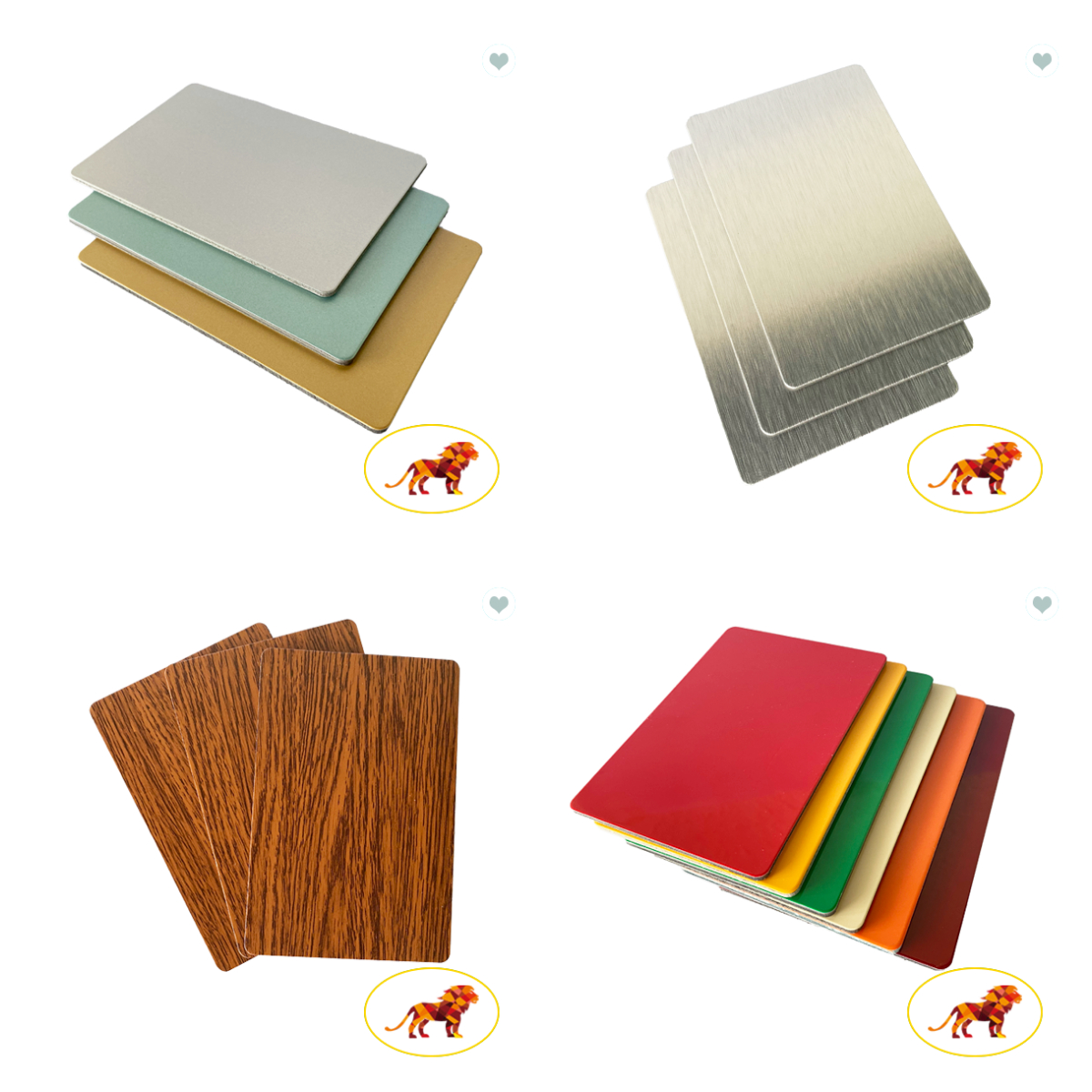 High Quality 3mm Brushed Aluminum Composite Panel Acp