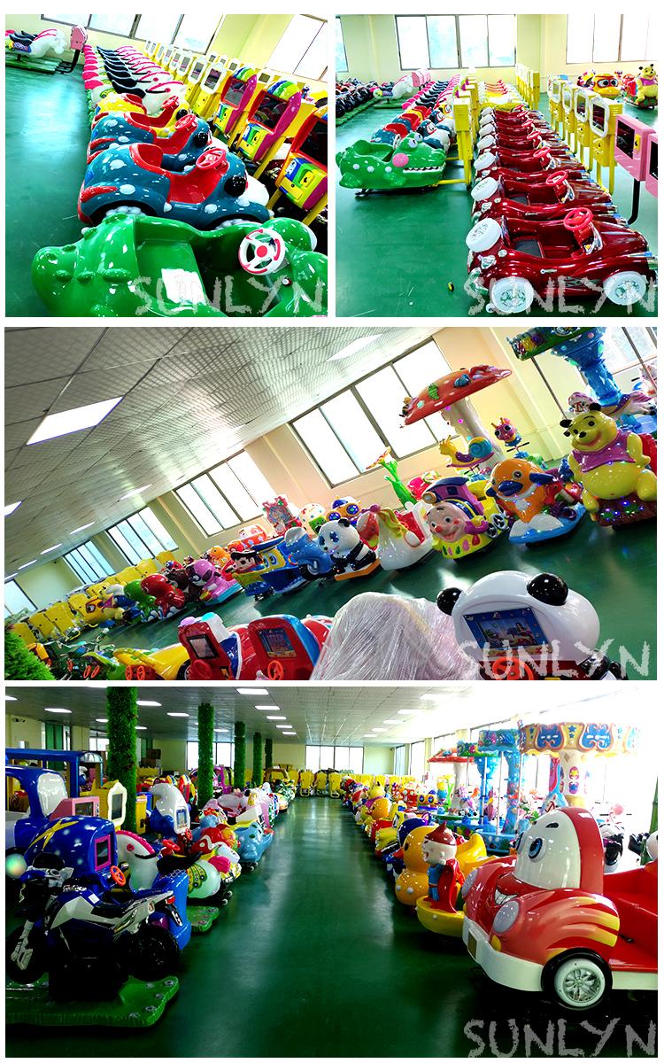 Moeda operado kiddie passeios de parque de diversões supermercado em mini passeio de trem para venda