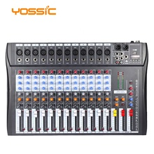 12 kanal professionelle steroeo mixer <span class=keywords><strong>audio</strong></span> mit MP3 player für DJ mixer