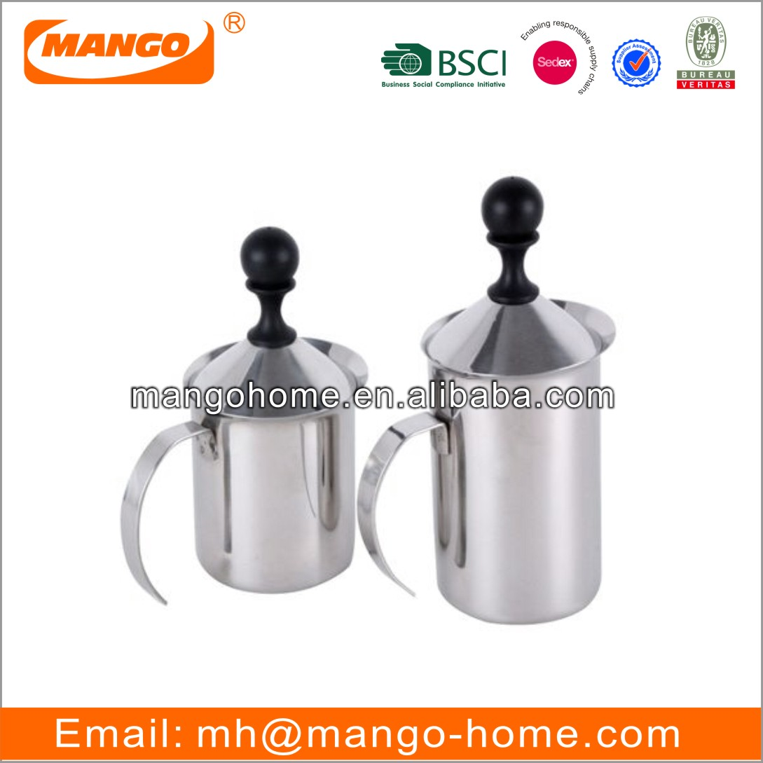 Stainless Steel Barista Tool Latte Frothing Pitcher Coffee Jug Milk Pitcher Jug Steaming Milk Cold Brew Coffee  Espresso Pitcher