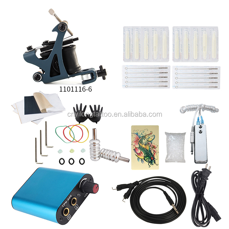 High quality Tattoo Machine Kit professional tattoo gun set